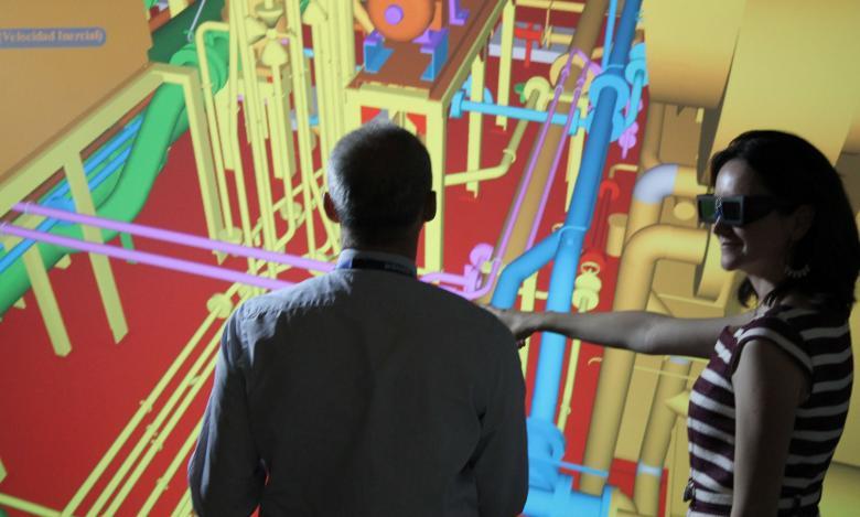 Sala de Realidad Virtual de FORAN