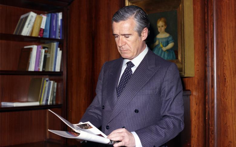 Enrique de Sendarta en su despacho en BBVA
