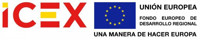 logo ICEX y FEDER