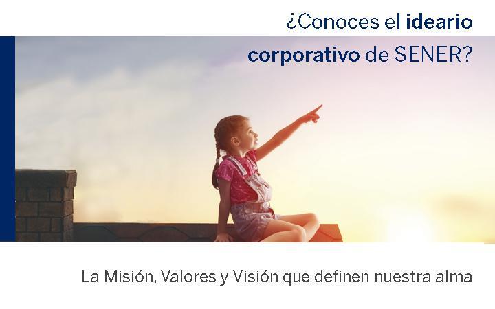 Misión, Valores y Visión de SENER